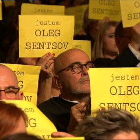 Polish Film Academy Awards, ceremony, Oleg Sentsov appeal