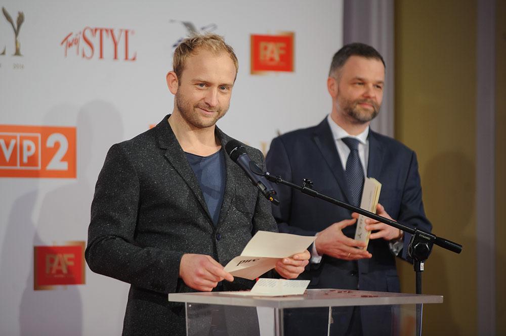 04.02.2016 Warszawa   Nominacje do Orlow 2016 N/z Borys Szyc fot. Tomasz Urbanek/East News