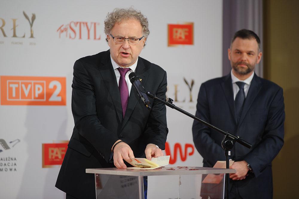 04.02.2016 Warszawa   Nominacje do Orlow 2016 N/z Dariusz Jablonski fot. Tomasz Urbanek/East News