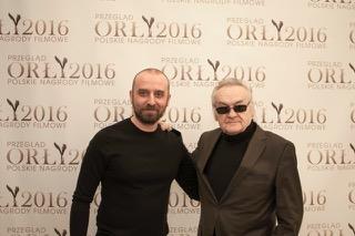 Wojciech Mecwaldowski i Jerzy Skolimowski (East News/Jacek Zuchowicz)