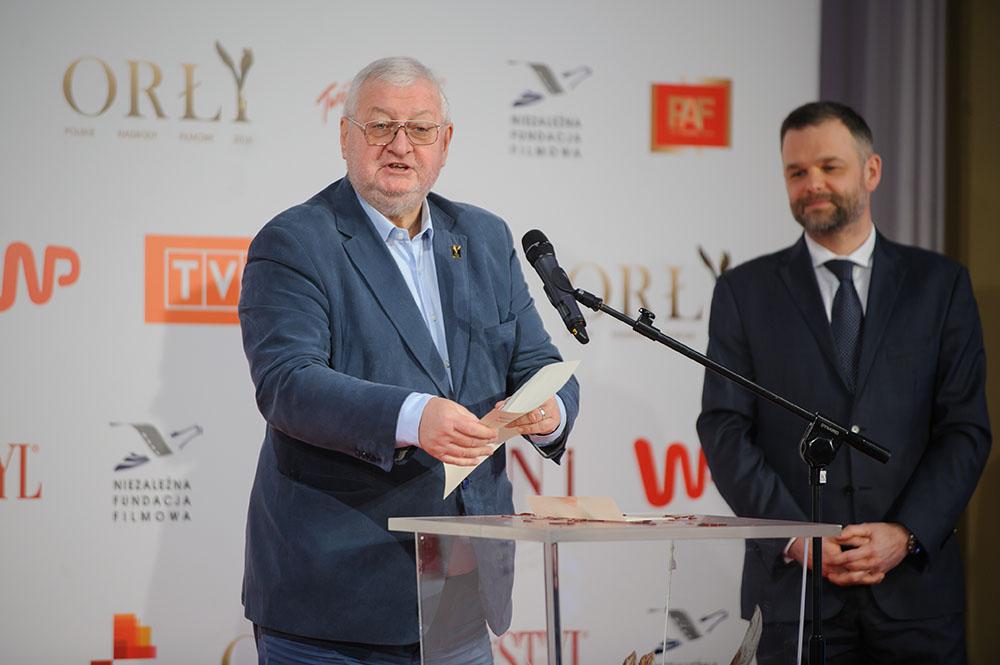 04.02.2016 Warszawa   Nominacje do Orlow 2016 N/z Janusz Zaoirski fot. Tomasz Urbanek/East News