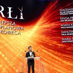 Fot. Piotr Molecki/East News, Warszawa, 21.06.2021. Gala wreczenia Polskich Nagrod Filmowych Orly 2021 na Torze Wyscigow Konnych na Sluzewcu. N/z: Piotr Glowacki